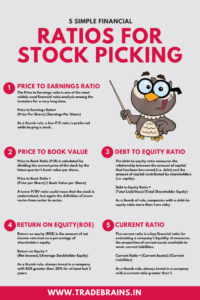 5 simple financial ratios for stock picking