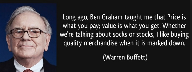 Warren Buffett Quote on Ben Grahab