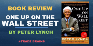 One up on the Wall Street By Peter Lynch cover