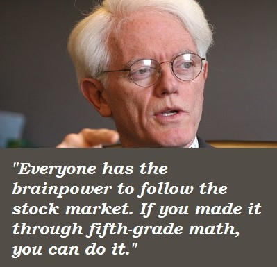 peter lynch quote investing