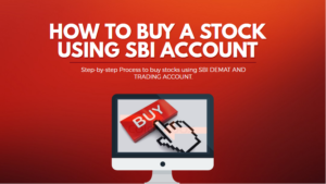 how to buy a stock using sbi demat account cover