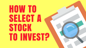 select a stock to invest in Indian stock market COVER