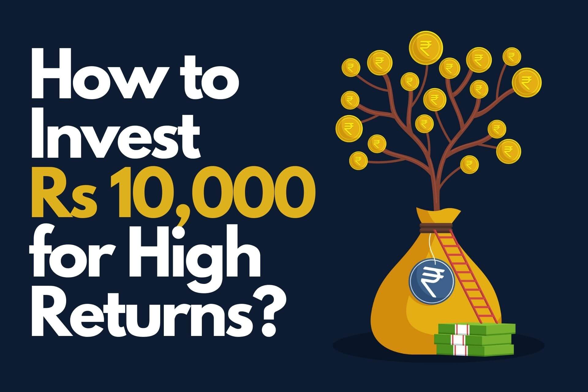 How to Invest Rs 10,000 for High Returns in Stock Market
