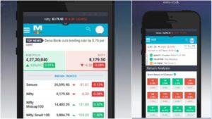 best stock market apps market mojo