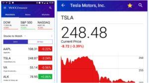 best stock market apps yahoo finance