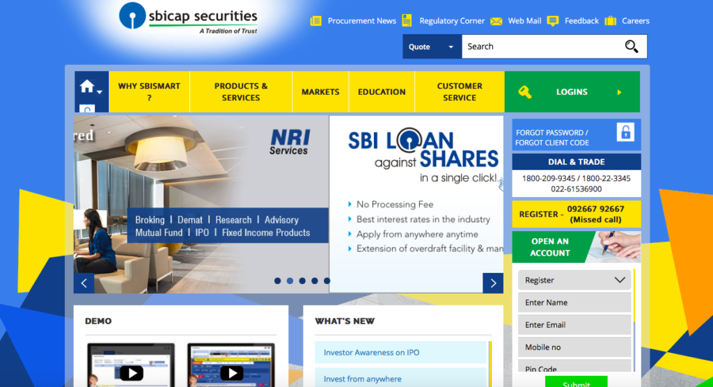 How to Open a Demat and Trading Account in SBI? | Trade Brains