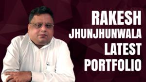 Rakesh Jhunjhunwala latest stock portfolio cover