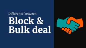 What is the difference between block and bulk deal