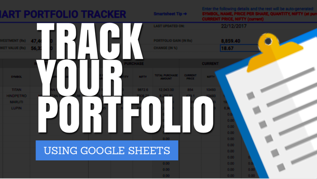 How to Track Your Stock Portfolio in Google Sheets?