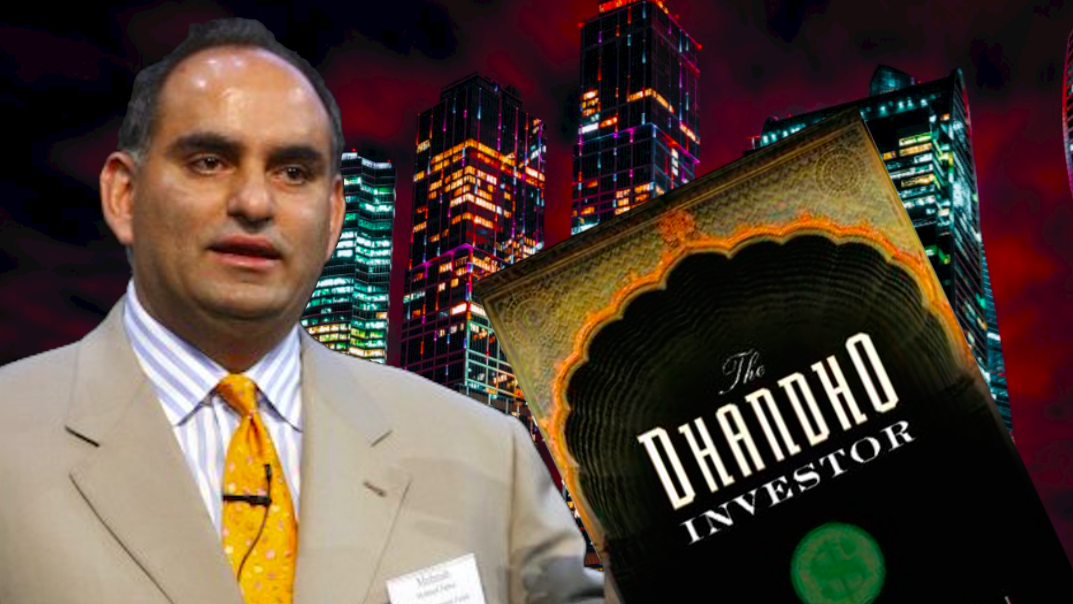 The Dhandho Investor- 'Heads I win, Tails I don't lose much'.