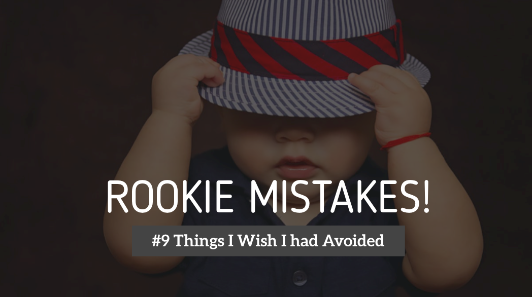 #9 Things I Wish I had Avoided During my Initial Days in Stock Market.