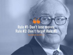 warren buffett rule no 1