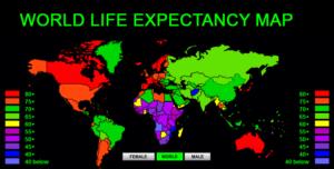 world-life-expectancy-map-