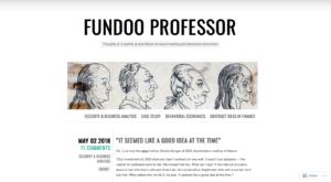 Best Indian stock market Blogs -fundoo professor-min