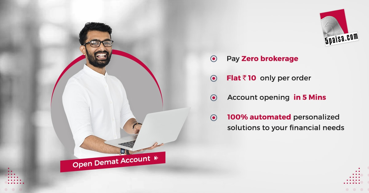 Open Demat and Trading Account at 5Paisa