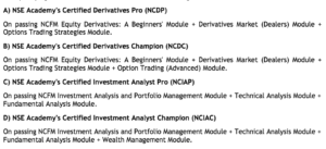 ncfm proficiency certificate