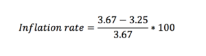 Inflation calculation 2