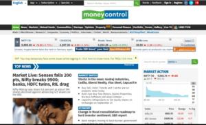 money control website