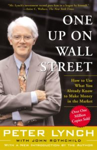 one up on the wall street -Peter Lynch