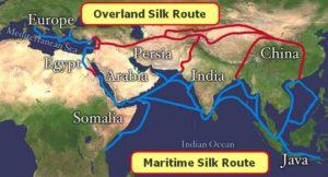 silk road trading