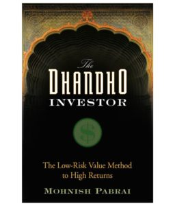 the dhandho investor -Mohnish Pabrai