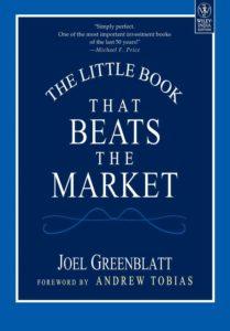 value investing books -the little book that beats the market -Joel Greenblatt