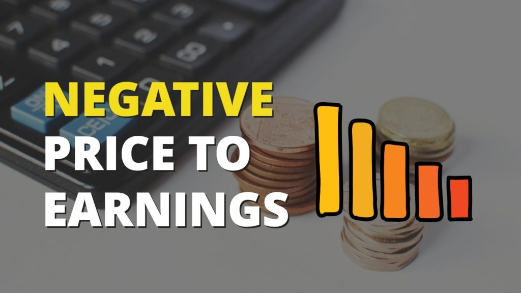 Is Negative Price To Earnings of Stocks a Bad Sign for Investors cover
