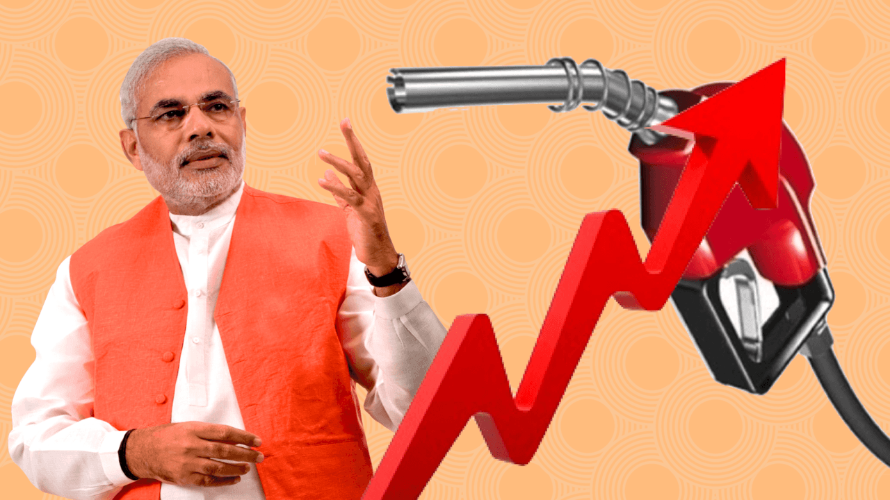 A brief study of Petrol & Diesel price history in India