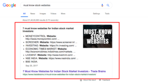 must know stock websites