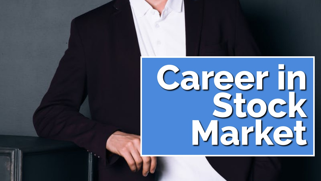 What are the Different Career Options in the Stock Market in India cover