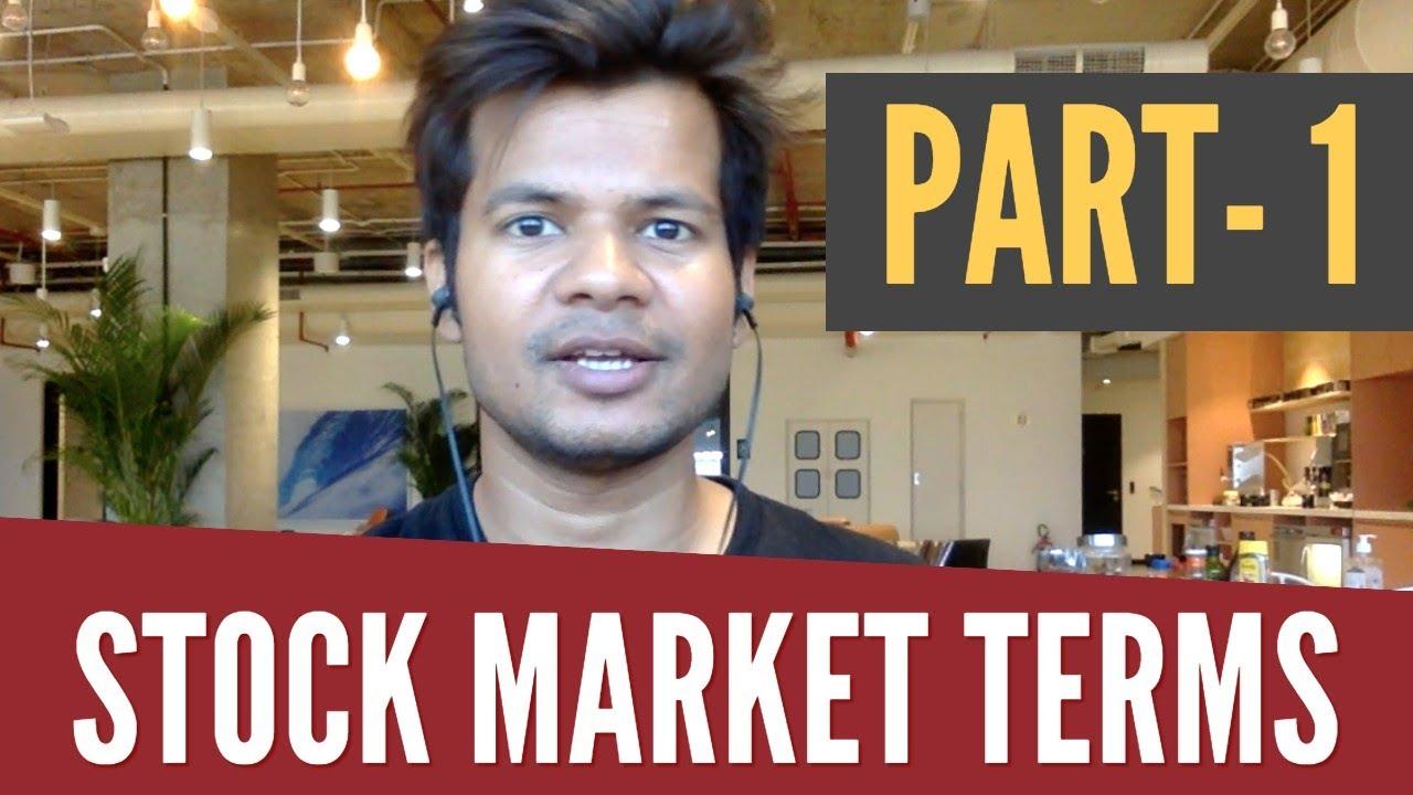 stock market terminologies