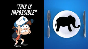 How to eat an elephant? One bite at atime cover