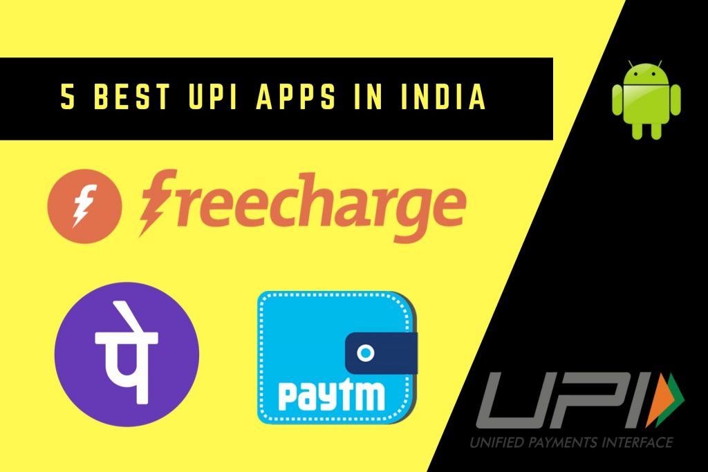 Image of Best UPI Apps in India