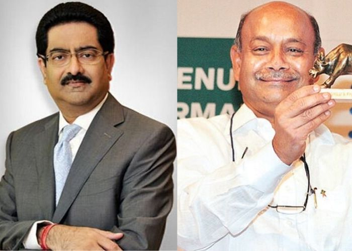 Kumar Mangalam Birla and Radhakrishna Damani's image - Richest Person in India