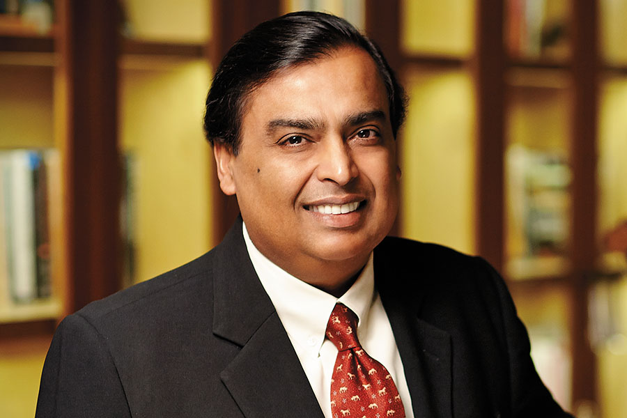 Mukesh Ambani's Image - Richest Person in India