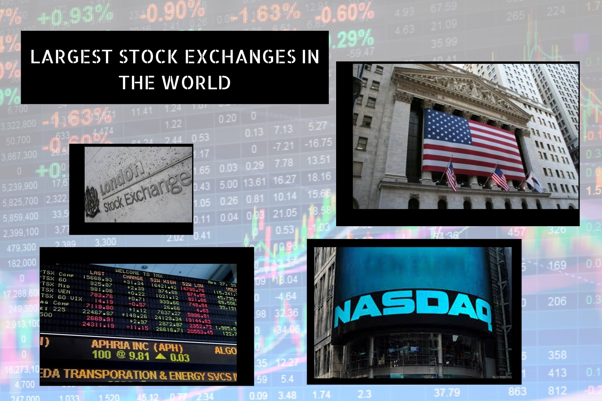 list of 10 largest stock exchange's image