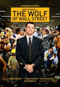 The Wolf of Wall Street stock market movie