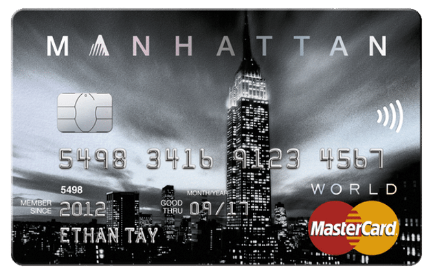 Standard Chartered Manhattan Credit Card