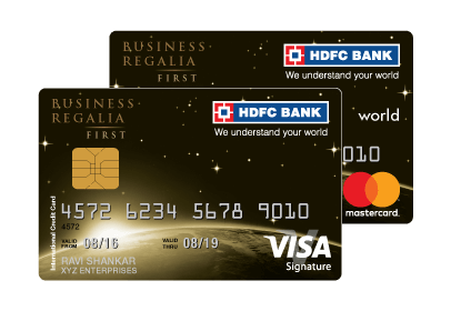 HDFC Regalia First Credit Card