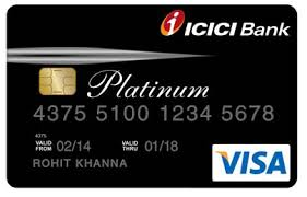 ICICI Bank Platinum Credit Card