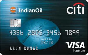 Indian Oil Citi Bank Credit Card