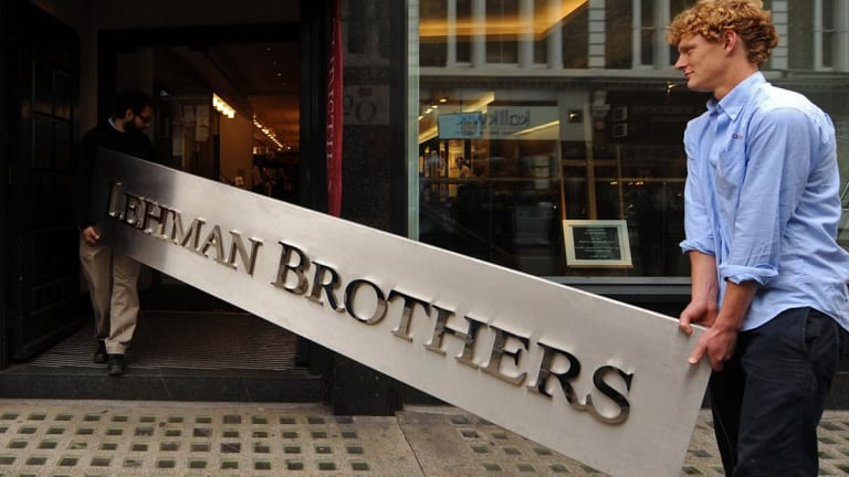 lehman brothers bankruptcy 2008 09