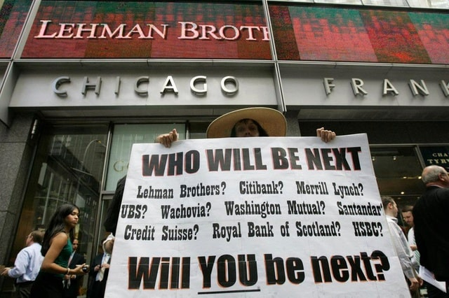 lehman brothers crisis