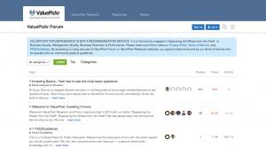 valuepickr forum