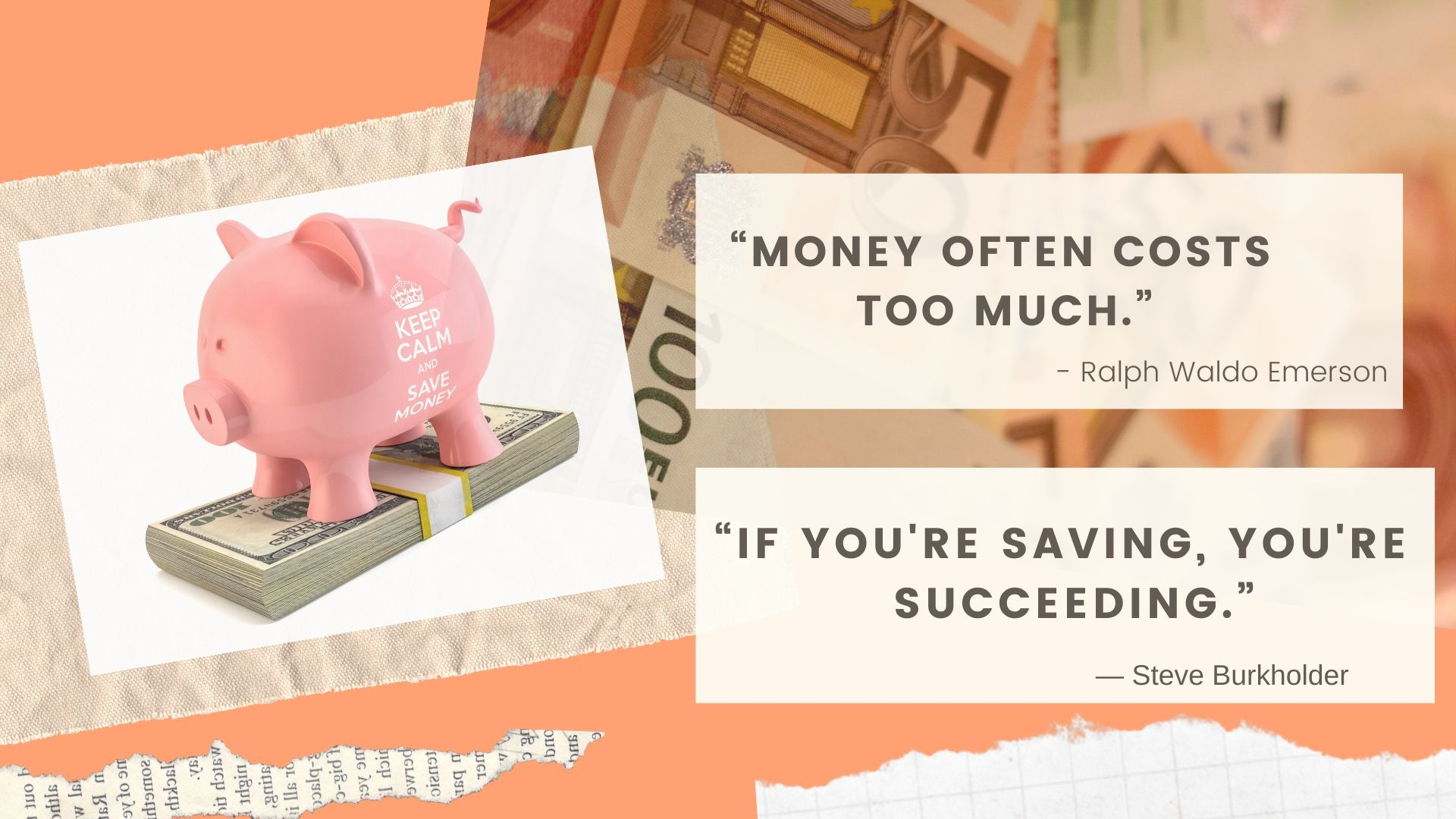 37 All-time Best Quotes on Money!