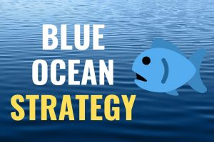 BLUE OCEAN STRATEGY meaning