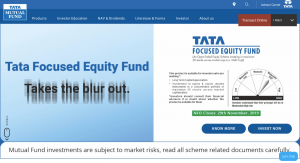 Tata Mutual Funds How to Buy Mutual Funds Online inIndia