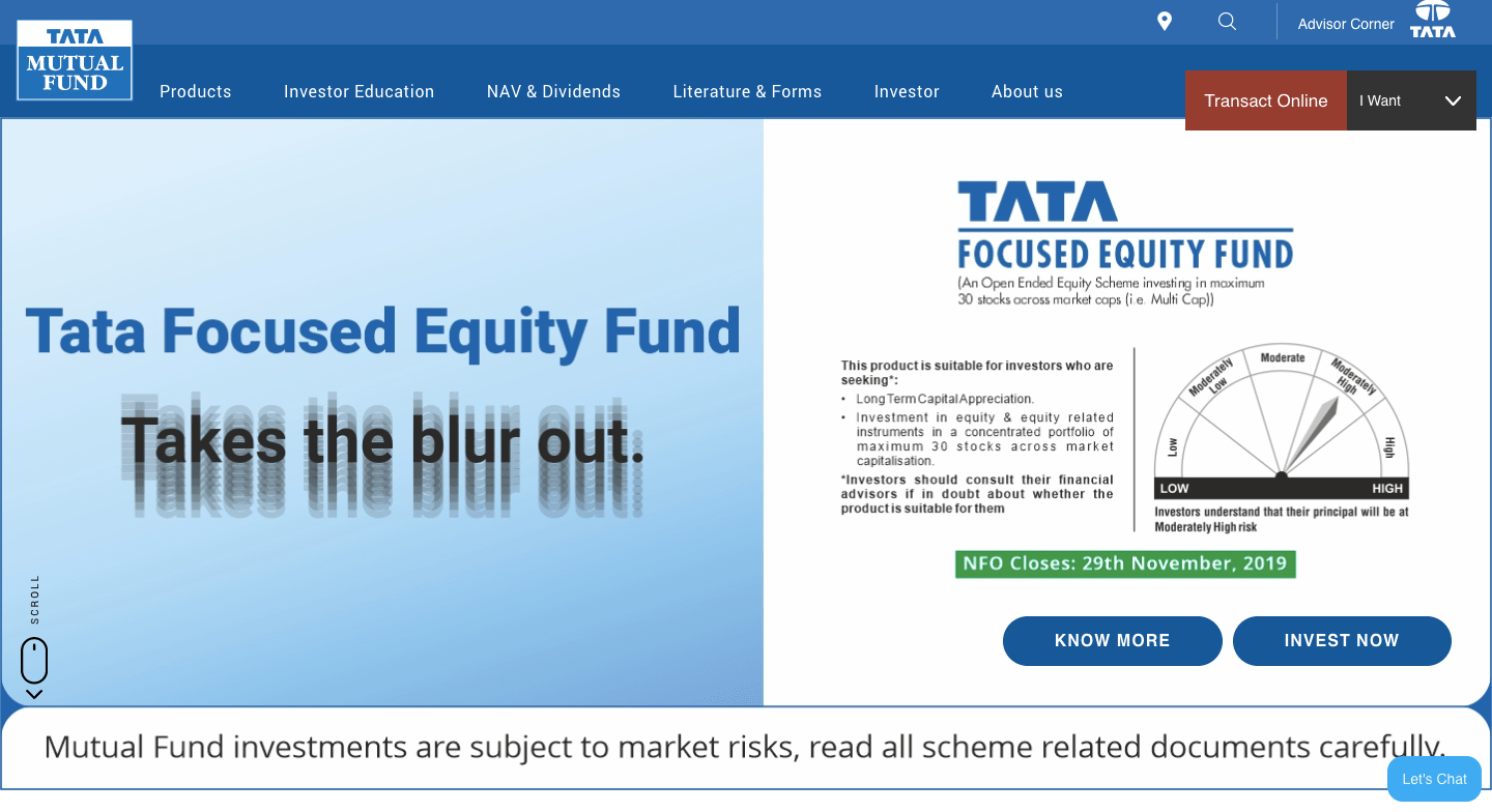 Tata Mutual Funds How to Buy Mutual Funds Online in India