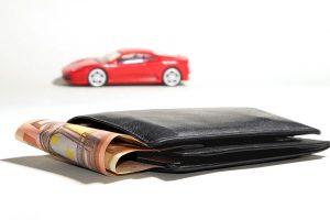 car loan bad debt example