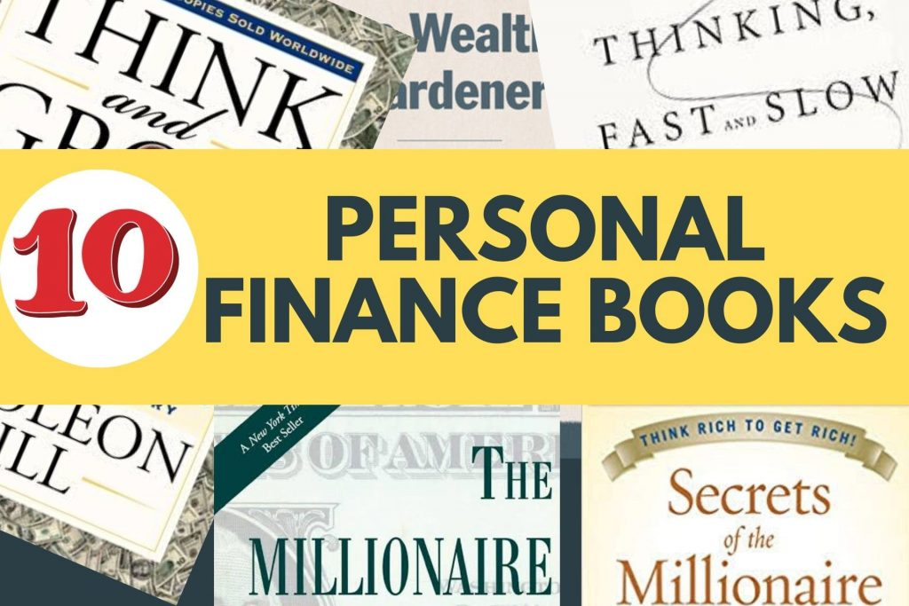 10 Best Personal Finance Books Of All Time Cover